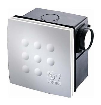 Radiální ventilátor do koupelny Vortice Quadro Micro 100 I THCS