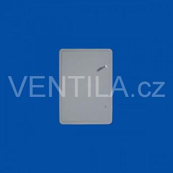 Plastová revizní dvířka First VP SI 300 x 400 G šedá