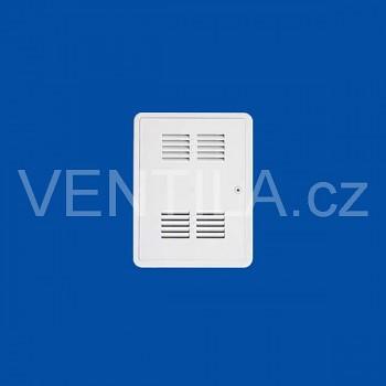 Plastová revizní dvířka First s mřížkou VP SIG 300 x 400 Bílá