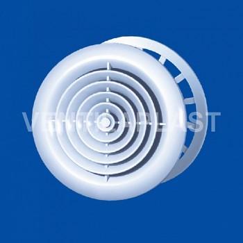 Plastový difuzor do stropu VP MV 125 PFs