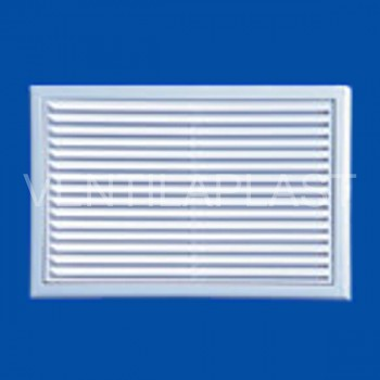 Plastová větrací mřížka VP MV 170 s (se síťkou)