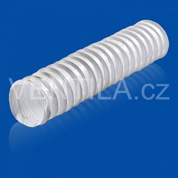 Kruhová ventilační ohebná PVC hadice VP 102 KH