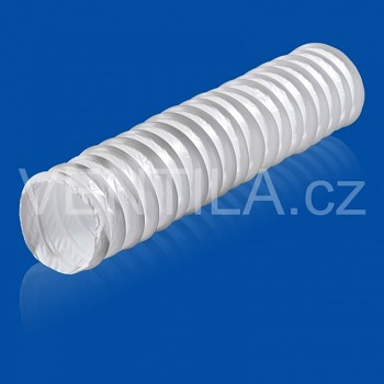 Kruhová ventilační ohebná PVC hadice VP 127 KH