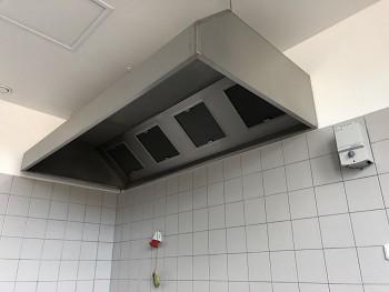 Gastro digestoř nástěnná 3600x800x450/400